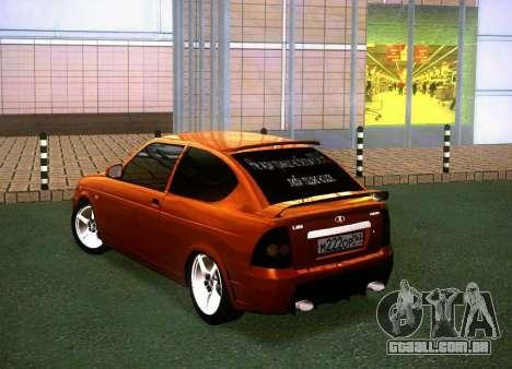 VAZ-2172 Coupe Sport para GTA San Andreas esquerda vista