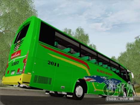 Irizar Mercedes Benz MQ2547 Alabat Liner para as rodas de GTA San Andreas