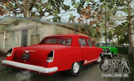 GAZ 21 Volga para GTA San Andreas vista traseira