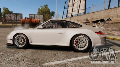 Porsche 911 (997) GT3 Cup para GTA 4 esquerda vista