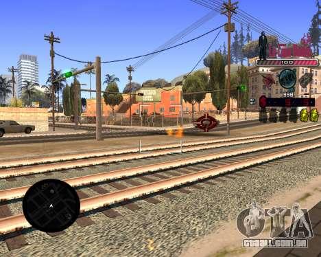 C-HUD LCN para GTA San Andreas terceira tela