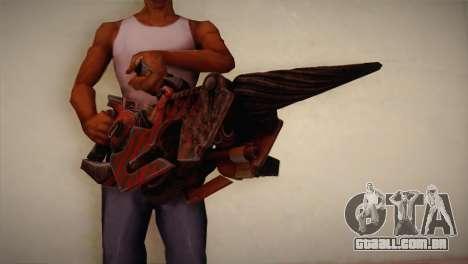 Lança-chamas de Bulletstorm para GTA San Andreas terceira tela