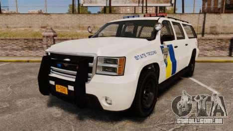GTA V Declasse Police Ranger LCPD [ELS] para GTA 4