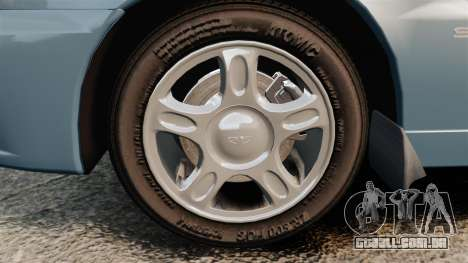 Daewoo Lanos 1997 PL para GTA 4 vista de volta