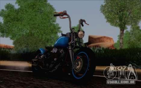 Harley-Davidson Knucklehead para GTA San Andreas