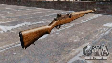 Autocarregáveis rifle M1 Garand v 1.1 para GTA 4 segundo screenshot