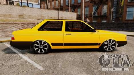 Volkswagen Voyage 1990 para GTA 4 esquerda vista