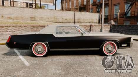 Cadillac Eldorado Coupe 1969 para GTA 4 esquerda vista