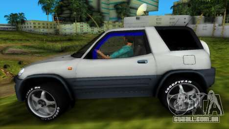 Toyota RAV 4 L 94 Fun Cruiser para GTA Vice City vista inferior