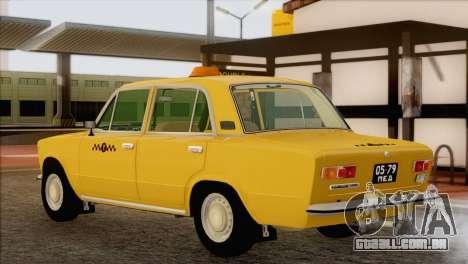 VAZ 21011 Taxi para GTA San Andreas esquerda vista