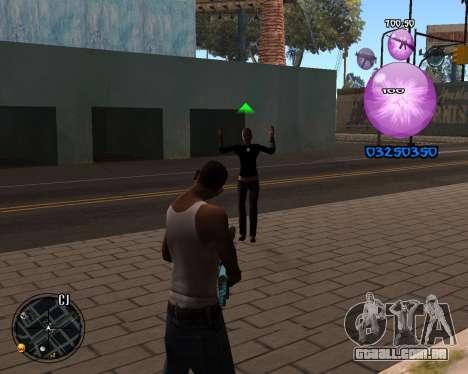 C-HUD Dony Scofield para GTA San Andreas segunda tela