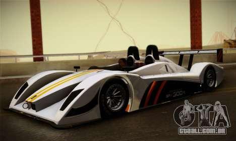 Caterham-Lola SP300.R para GTA San Andreas esquerda vista