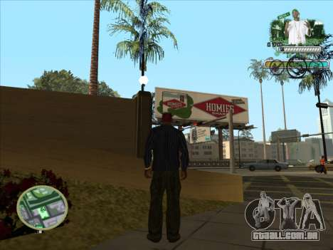 C-HUD Groove Street para GTA San Andreas terceira tela