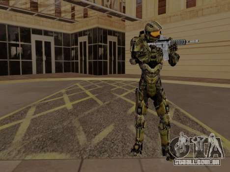Master Chief para GTA San Andreas terceira tela