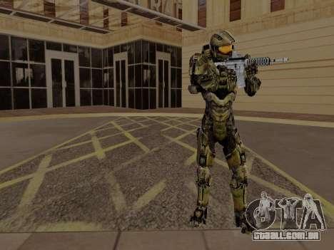 Master Chief para GTA San Andreas terceira tela