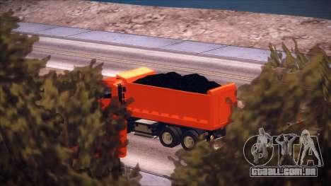 Scania P420 para GTA San Andreas vista traseira