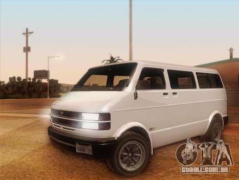 Cometer GTA 5 para GTA San Andreas