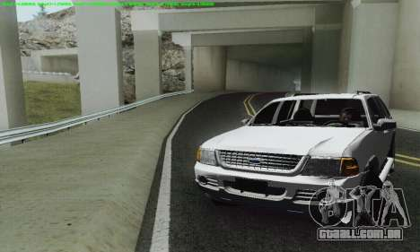 Ford Explorer 2002 para GTA San Andreas vista interior