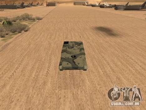 BMP-3 para GTA San Andreas esquerda vista