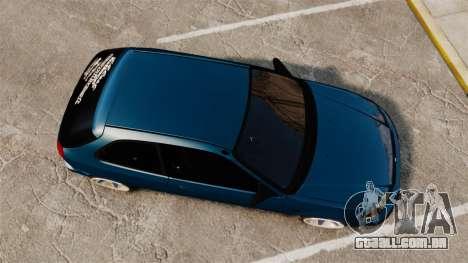 Honda Civic EK para GTA 4 vista direita