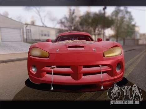 Dodge Viper Competition Coupe para GTA San Andreas