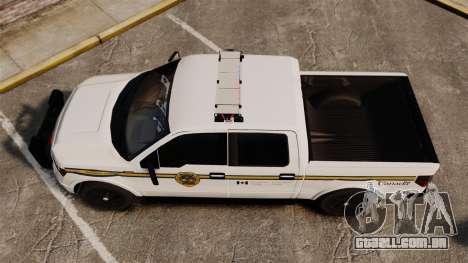 Ford F-150 2012 CEPS [ELS] para GTA 4 vista direita