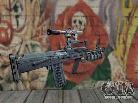 Rifle de STALKER para GTA San Andreas segunda tela