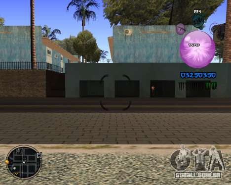 C-HUD Dony Scofield para GTA San Andreas terceira tela