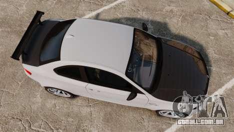 BMW 1M 2014 para GTA 4 vista direita