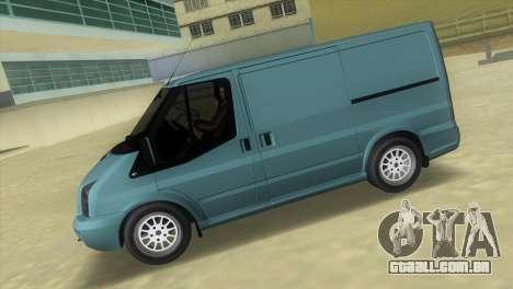 Ford Transit Sportback 2011 para GTA Vice City deixou vista