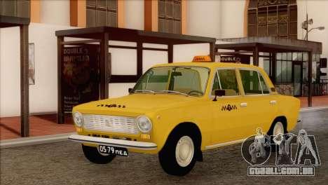 VAZ 21011 Taxi para GTA San Andreas