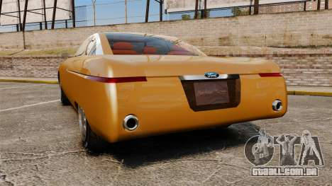 Ford Forty Nine Concept 2001 para GTA 4 traseira esquerda vista