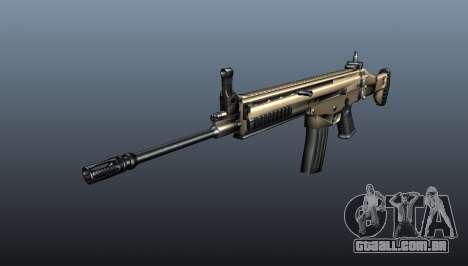 Fuzil de assalto SCAR-L para GTA 4