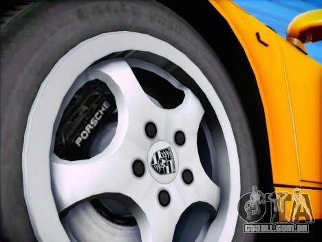 Porsche 911 Speedster Carrera 2 1992 para vista lateral GTA San Andreas