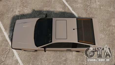 Blista CRX para GTA 4 vista direita