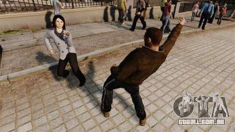 O Script-dança - para GTA 4 terceira tela