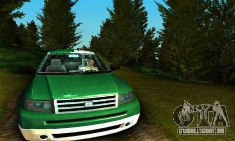 Landstalker GTA IV para GTA San Andreas vista interior