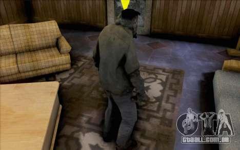 Left 4 Dead fumante para GTA San Andreas segunda tela