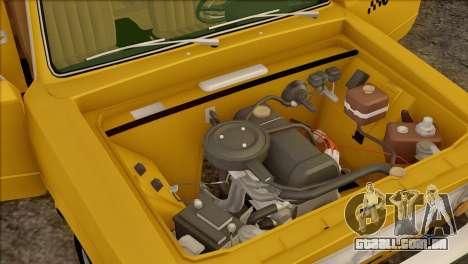 VAZ 21011 Taxi para o motor de GTA San Andreas