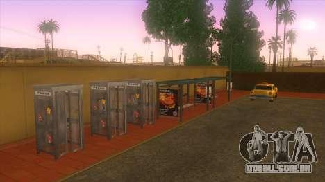 Estação de autocarros, Los Santos para GTA San Andreas quinto tela