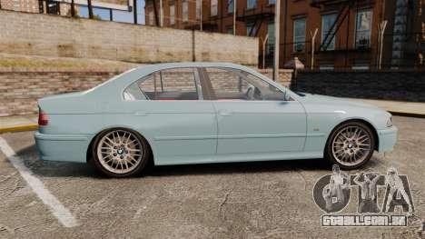 BMW 525i (E39) para GTA 4 esquerda vista