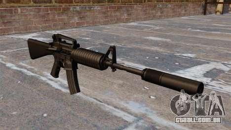 Carabina Colt M4A1 automática para GTA 4
