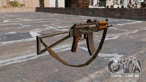 Automática AKS74U com cinta para GTA 4 segundo screenshot