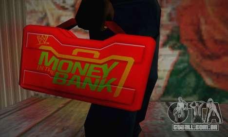 Caixa vermelha para GTA San Andreas terceira tela