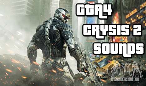 Crysis 2 Weapon Sound v 2.0 para GTA 4