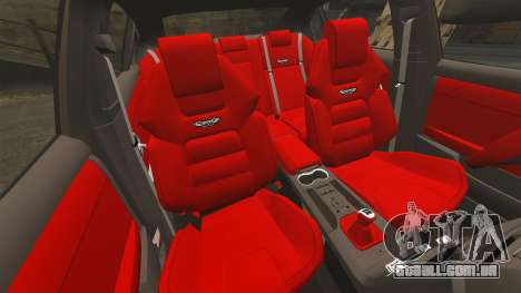 Holden HSV W427 2009 para GTA 4 vista interior