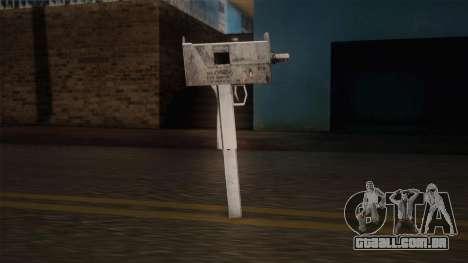 Uzi de Max Payne para GTA San Andreas terceira tela