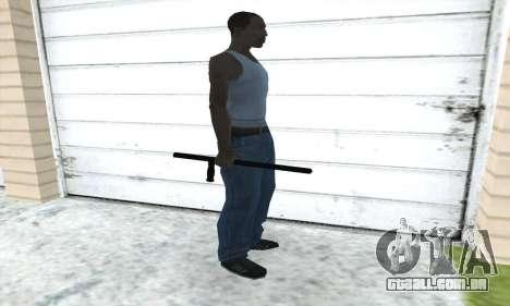 Bastão telescópico para GTA San Andreas terceira tela
