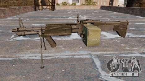 Metralhadora de uso geral M60E4 para GTA 4 terceira tela