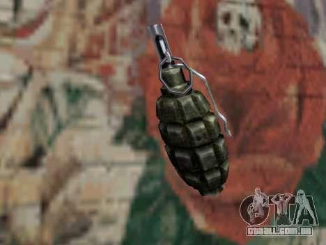 Romã de STALKER para GTA San Andreas segunda tela